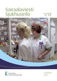 Sairaalaviesti 1/2012 - Kunnat.net