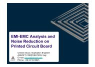 EMI-EMC Analysis and Noise Reduction on PCB