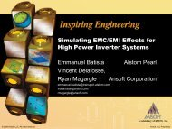 Simulating EMC/EMI Effects for High-Power Inverter Systems