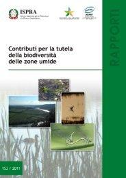 """Rapporto tecnico ISPRA 153/11 """"Contributi per la ... - Natura Italia"""