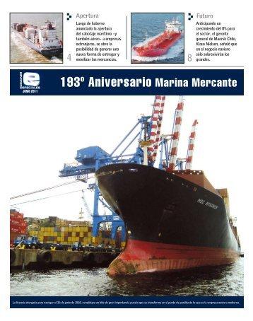 193° Aniversario Marina Mercante