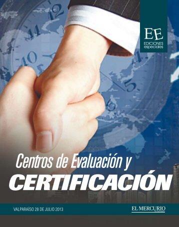 centros de evaluaciony certificacion - Sitio en Construcción