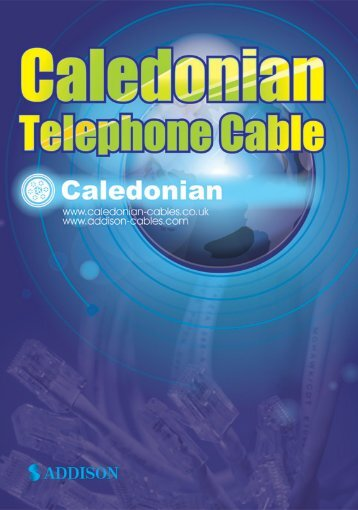caledonian telephone cable