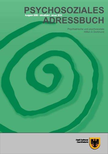 Psychosoziale Adressbuch - TU Dortmund - Referat 7, Arbeitsschutz