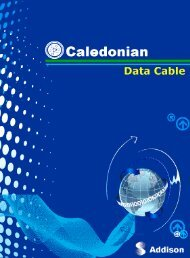 Caledonian Data Cable|Data Cables|Belden Type Data Cables