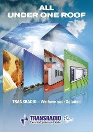 Transmitter Brochure - TRANSRADIO