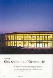 Kids stehen auf Geometrie - Pro Publica