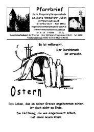 Pfarrbrief vom 09.04.2006 - Propsteipfarrgemeinde St. Mariä ...