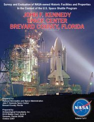 john f. kennedy space center brevard county, florida - Environmental ...