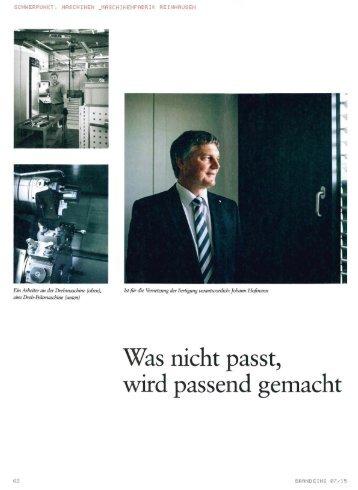 Top 100 Unternehmer: Johann Hofmann - Industrie 4.0