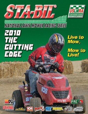 2010 Cutting Edge Year Book - U.S. Lawn Mower Racing Association