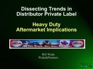 Dissecting Trends in Distributor Private Label ... - Wade & Partners