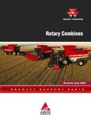 Massey Ferguson Rotary Combines - AGCO Parts