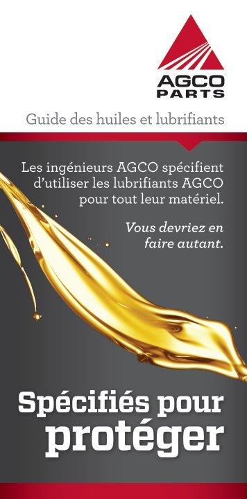 protéger - AGCO Parts