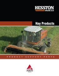 Hay Products - AGCO Parts