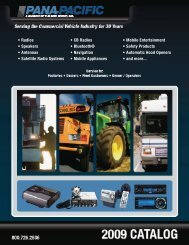 Pana-Pacific Sales Managers - AGCO Parts