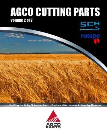 Agco 2008 catalog - AGCO Parts