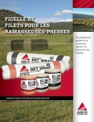 ficelle et filets pour les ramasseuses-presses - AGCO Parts