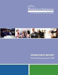 WORKFORCE REPORT - Workforce Solutions Alamo