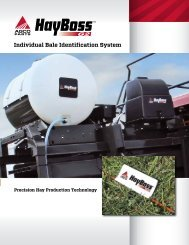 Individual Bale Identification System - AGCO Parts
