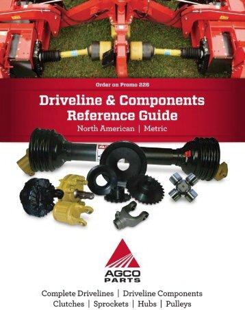 AGCO Parts & Weasler Driveline Catalog