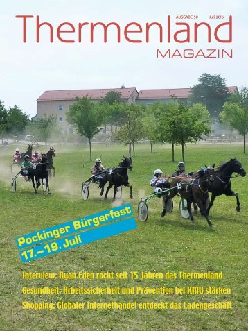 Thermenland Magazin Juli 2015