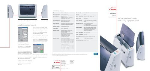 CANON DR2080C TWAIN DRIVERS WINDOWS XP