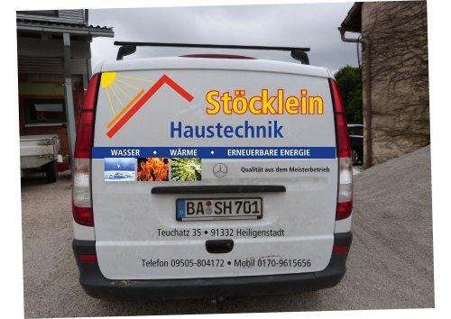 Teuchatz 35 • 91332 Heiligenstadt Telefon 09505-804172 • Mobil 0170-9615656