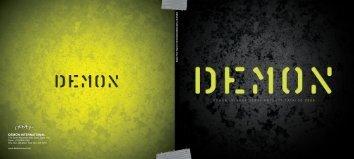 DEMON INTERNATIONAL PRODUCT CATALOG 2009 DEMON ...