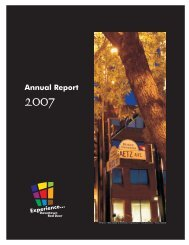 2007 Annual Report - Experience Downtown Red Deer