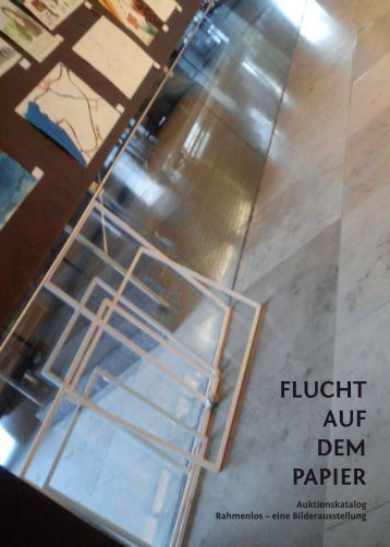 FLUCHT AUF DEM PAPIER