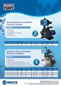 domestic water supply pressure pump - Bianco Pumpz - Page 2
