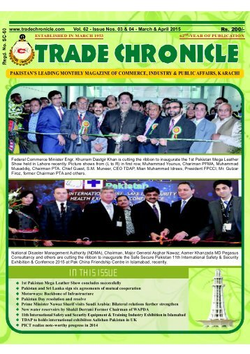 Trade Chronicle March & April 2015