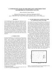 a comparative study of the impulsive noise reduction algorithms in ...