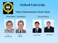 Harvey Burd - Future Infrastructure Forum