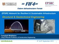 Campbell Middleton - Future Infrastructure Forum