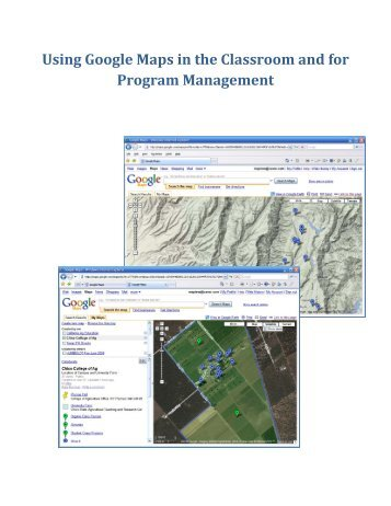 Using Google Maps in the Classroom and for ... - Agedweb.org