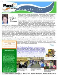 March 2010 Newsletter for web