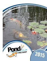 Pond Liners and Liner Accessories