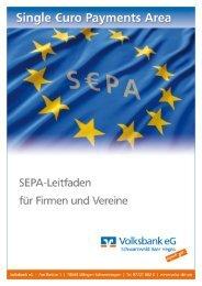 SEPA-Leitfaden (PDF) - Volksbank eG