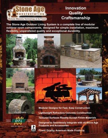 Stone Age Brochure - A.S.P. Enterprises, Inc