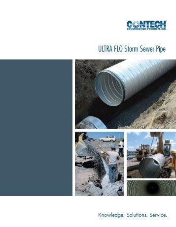 ULTRA FLO Storm Sewer Pipe - CPI Supply