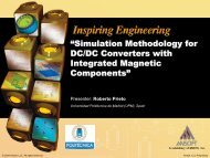 Simulation Methodology for DC/DC Converters with Integrated ...
