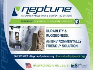 Neptune HOMA Pump with Auto Coupling System
