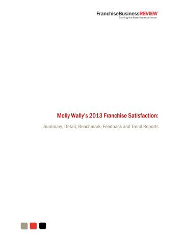 Sample FBR Franchisee Satisfaction Reports