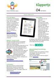 Schoolklappertje 04 - 2013-2014 (nieuw) - PCBS Adelbrecht ...