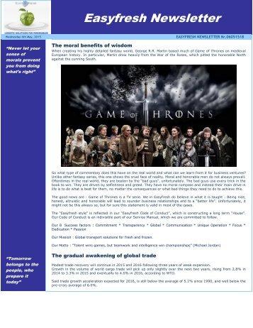Easyfresh Newsletter 18