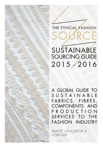 Sustainable Sourcing Guide 15-16