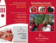 View our Alumni Services brochure - The Cornell Store