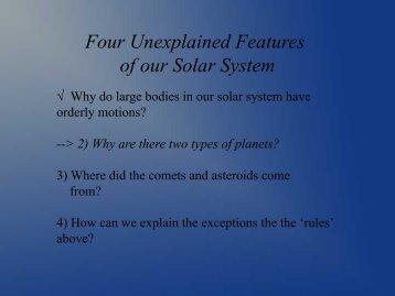 Inner Planets - Ann Arbor Earth Science